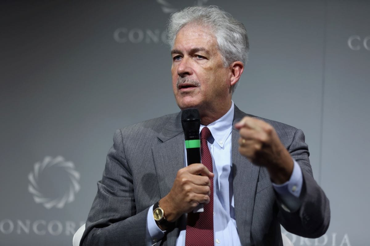 Former career diplomat William Burns to lead the CIA on September 19, 2016 in New York City [Ben Hider/Getty Images for Concordia Summit]