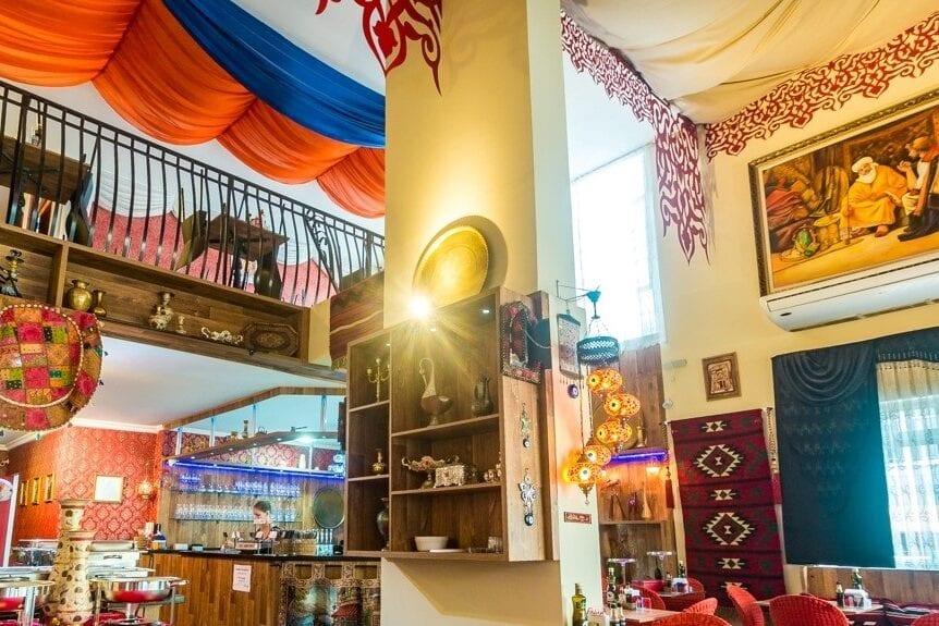 Falah Restaurant in Florianopolis, Brazil (Photo: MEMO)