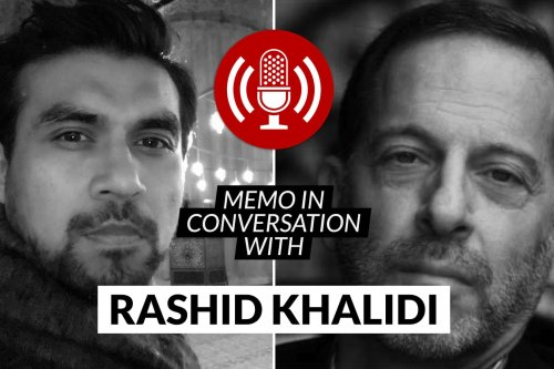 MEMO in conversation with Professor Rashid Khalidi