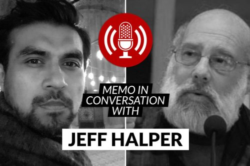MEMO in conversation with Jeff Halper [thumbnail]