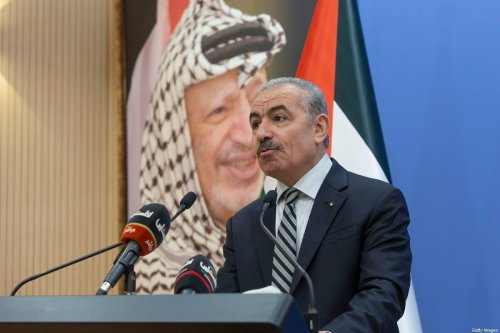 Palestinian Prime Minister Muhammad Shtayyeh on August 17, 2020 [NASSER NASSER/POOL/AFP via Getty Images]