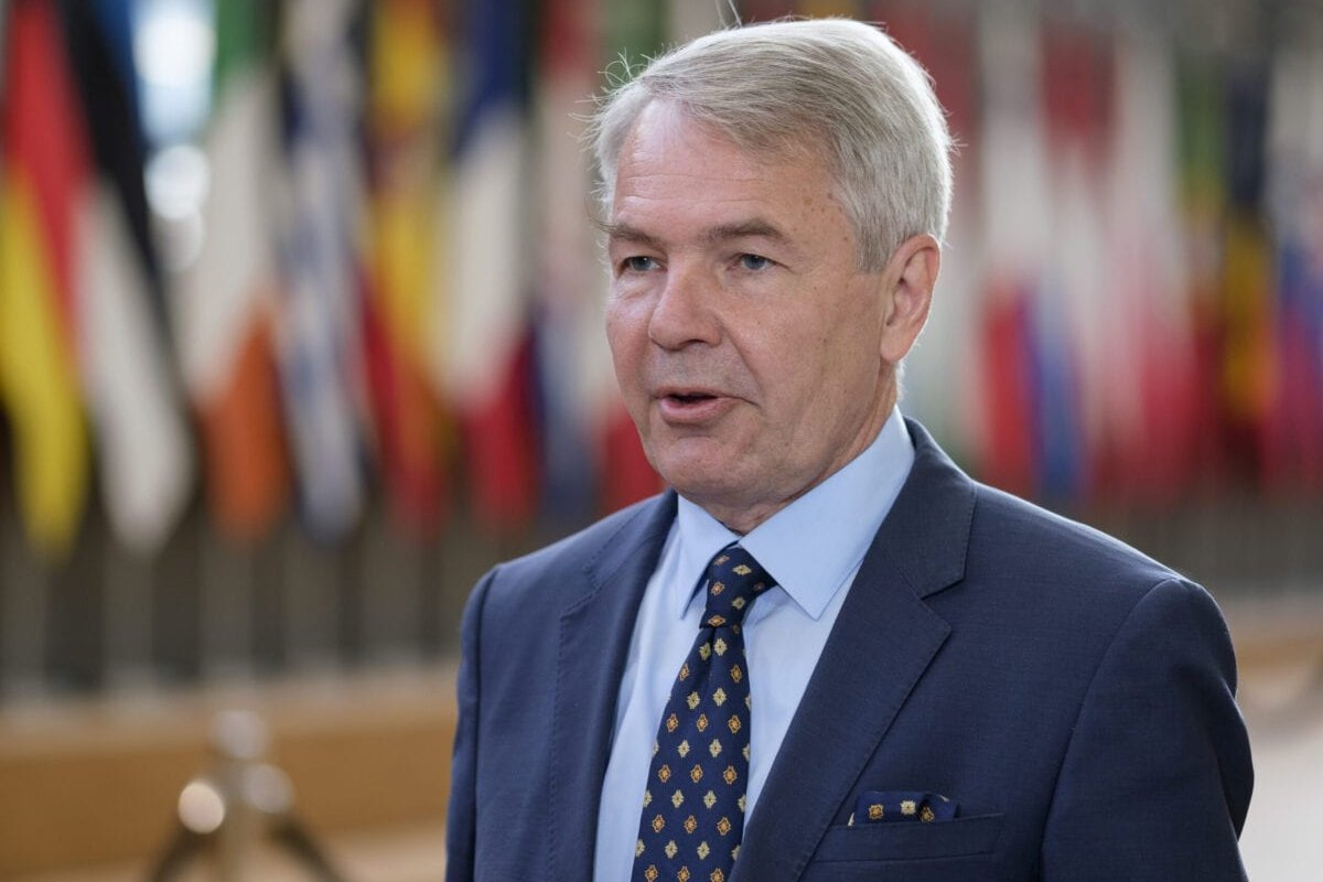 Finish Minister of Foreign Affairs Pekka Olavi Haavisto prior the EU Foreign Affairs Council on September 21, 2020 in Bruussels, Belgium [Thierry Monasse/Getty Images]