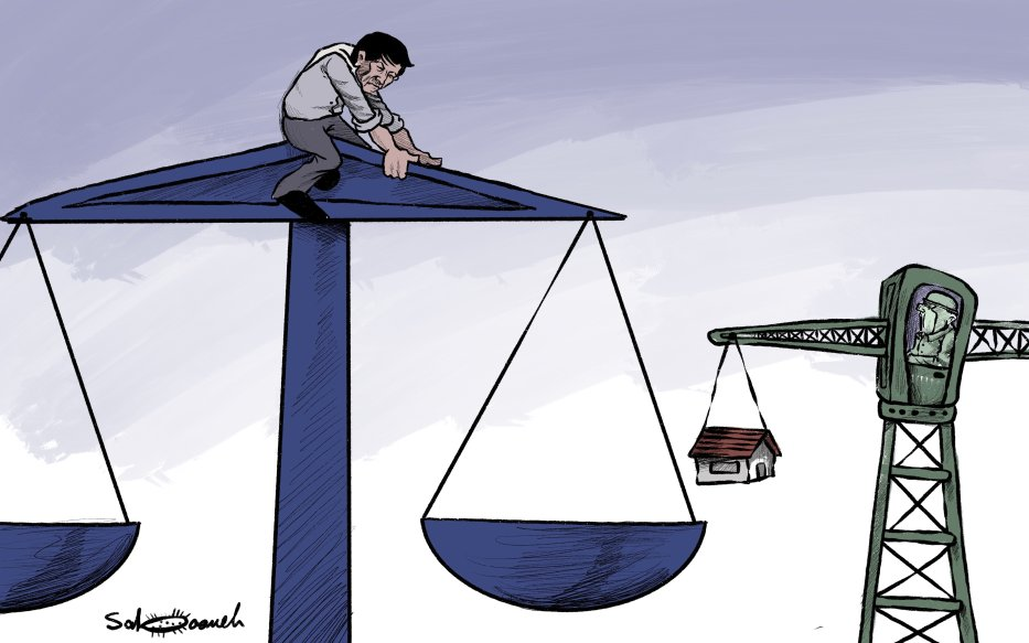 ICC ruling brings hope for Palestine, dismay for Israel - Cartoon [Sabaaneh/MiddleEastMonitor]