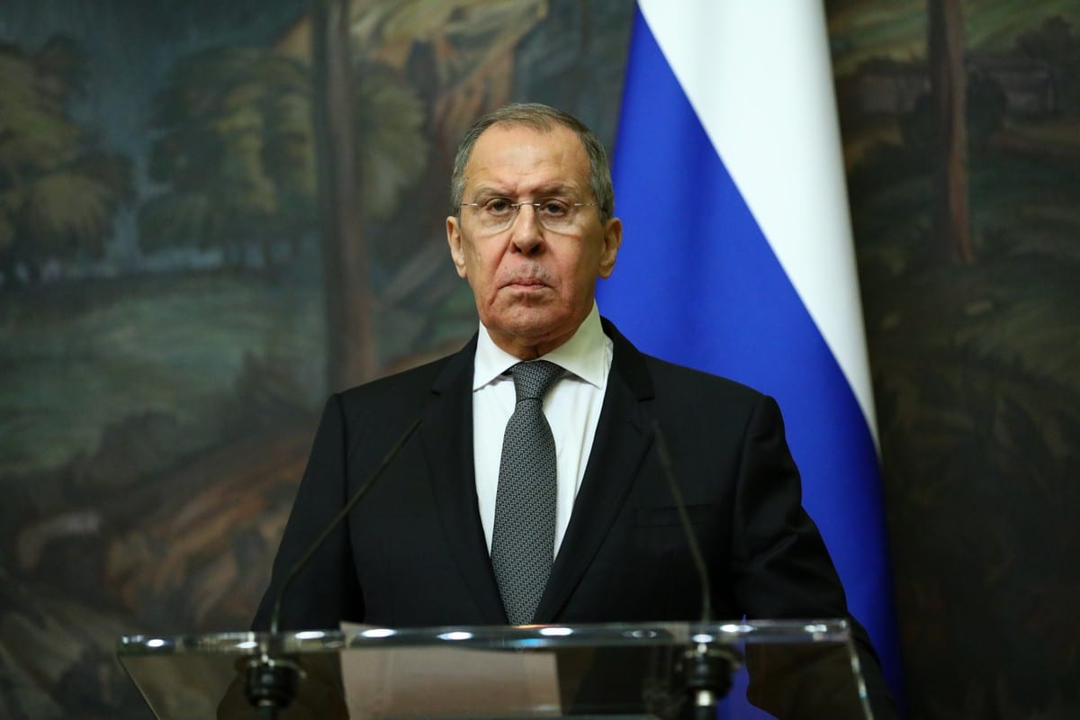 Russian Foreign Minister Sergey Lavrov in Moscow, Russia on 5 February 2021 [RU Foreign Ministry/Anadolu Agency]