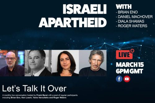 Let's Talk It Over #2: Israeli Apartheid