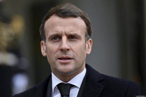French President, Emmanuel Macron in Paris, France on 17 March 2021. [Julien Mattia - Anadolu Agency]