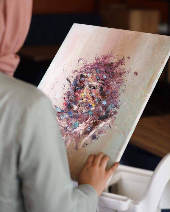 De-Orientalizing Art - Shahed Salama's work
