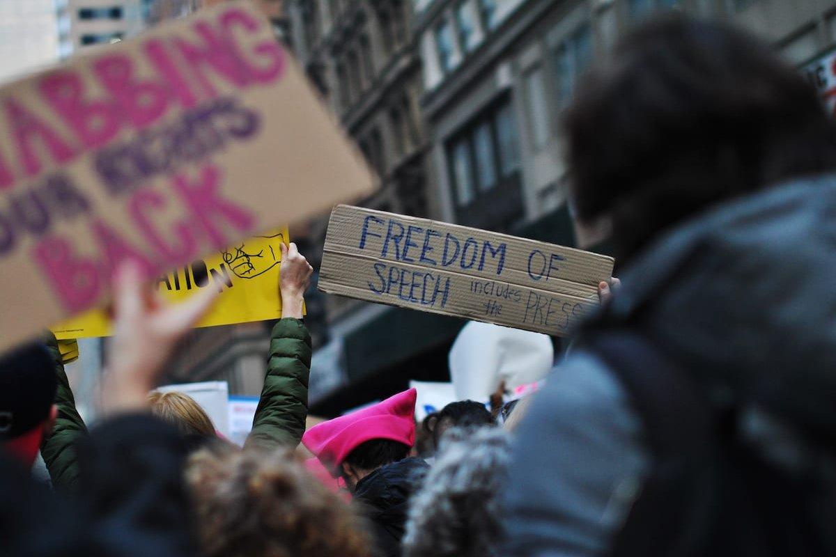 Freedom of speech [Wikipedia]