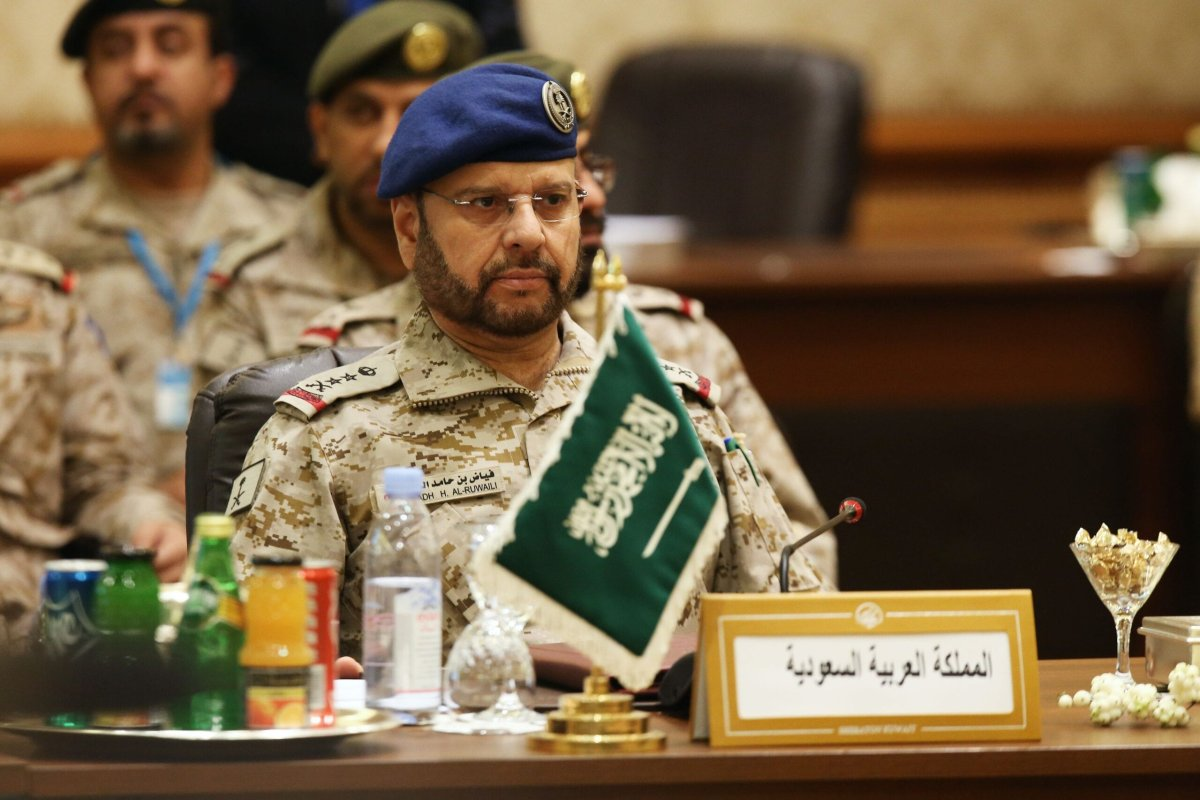 Saudi chief of the staff, Major General Fayyad bin Hamad bin Ragad al-Ruwaili, attends a meeting of the 15th session for the chiefs of staff of the six Gulf Cooperation Council (GCC)states in Kuwait City on September 10, 2018 [YASSER AL-ZAYYAT/AFP via Getty Images]