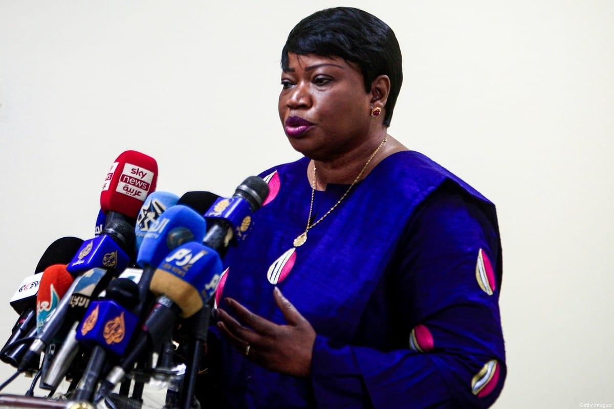 International Criminal Court (ICC) Prosecutor, Fatou Bensouda on 20 October 2020 [EBRAHIM HAMID/AFP/Getty Images]