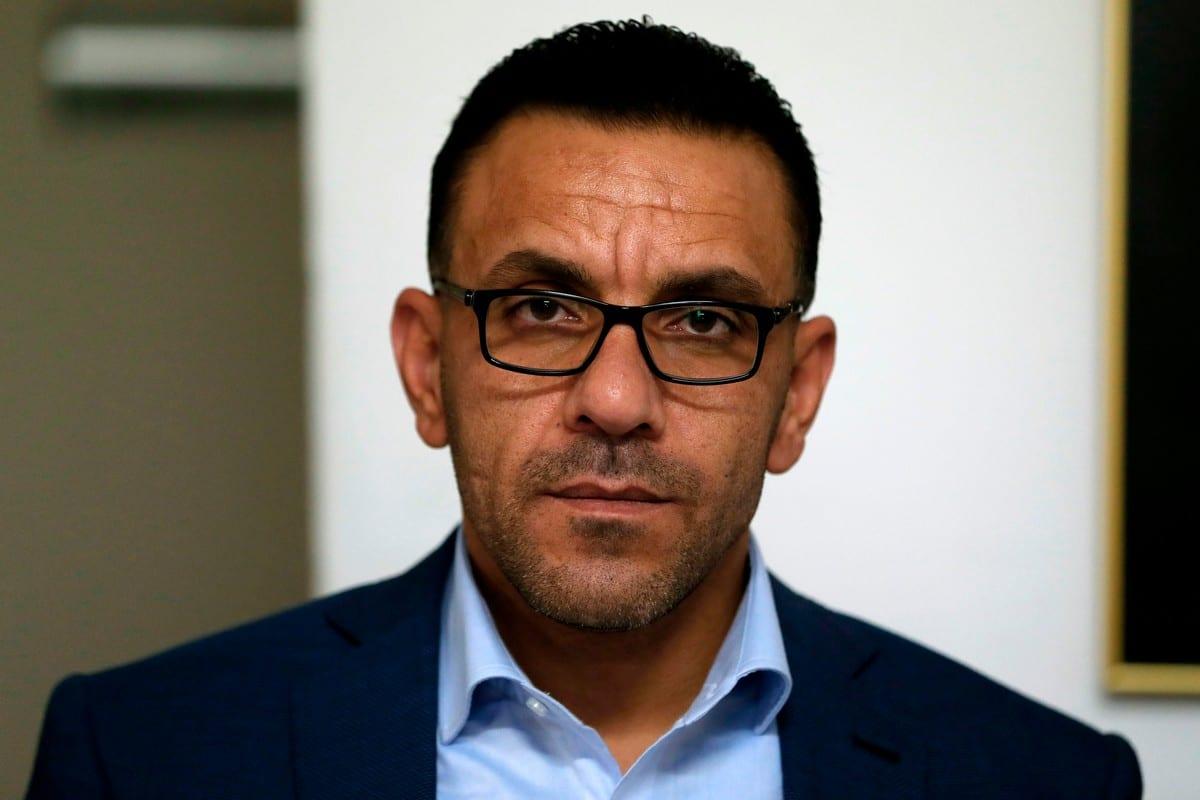 Palestinian Governor of occupied Jerusalem Adnan Ghaith on 4 November 2018 [AHMAD GHARABLI/AFP/Getty Images]