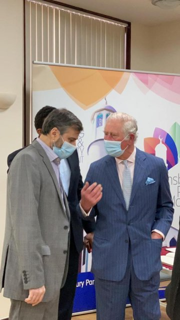 HRH The Prince of Wales and The Duchess of Cornwall visit Finsbury Park Mosque [image provided / Finsbury Park Mosque]