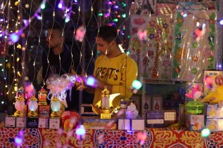 Gaza welcomes Ramadan [Mohammed Asad/Middle East Monitor]