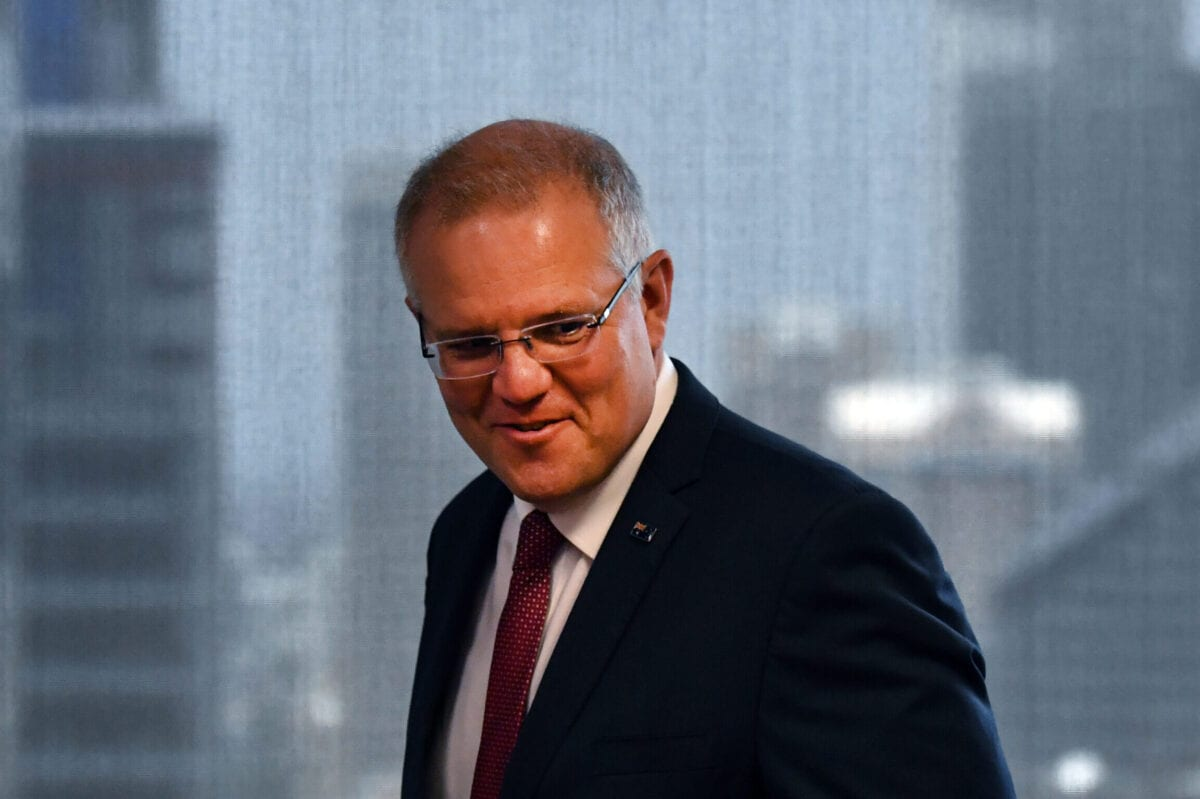 Australian Prime Minister Scott Morrison on December 15, 2018 in Sydney, Australia [Mick Tsikas-Pool/Getty Images]