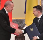 Turkey and Ukraine could each be the foreign policy saviour of the other