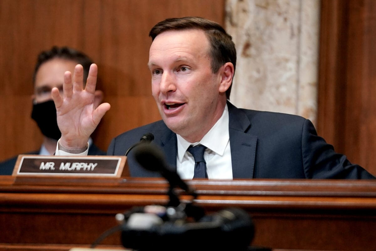 Senator Chris Murphy on Capitol Hill on April 14, 2021 in Washington, DC [Greg Nash-Pool/Getty Images]