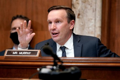 Senator Chris Murphy on Capitol Hill on April 14, 2021 in Washington, DC [Greg Nash-Pool/Getty Images]