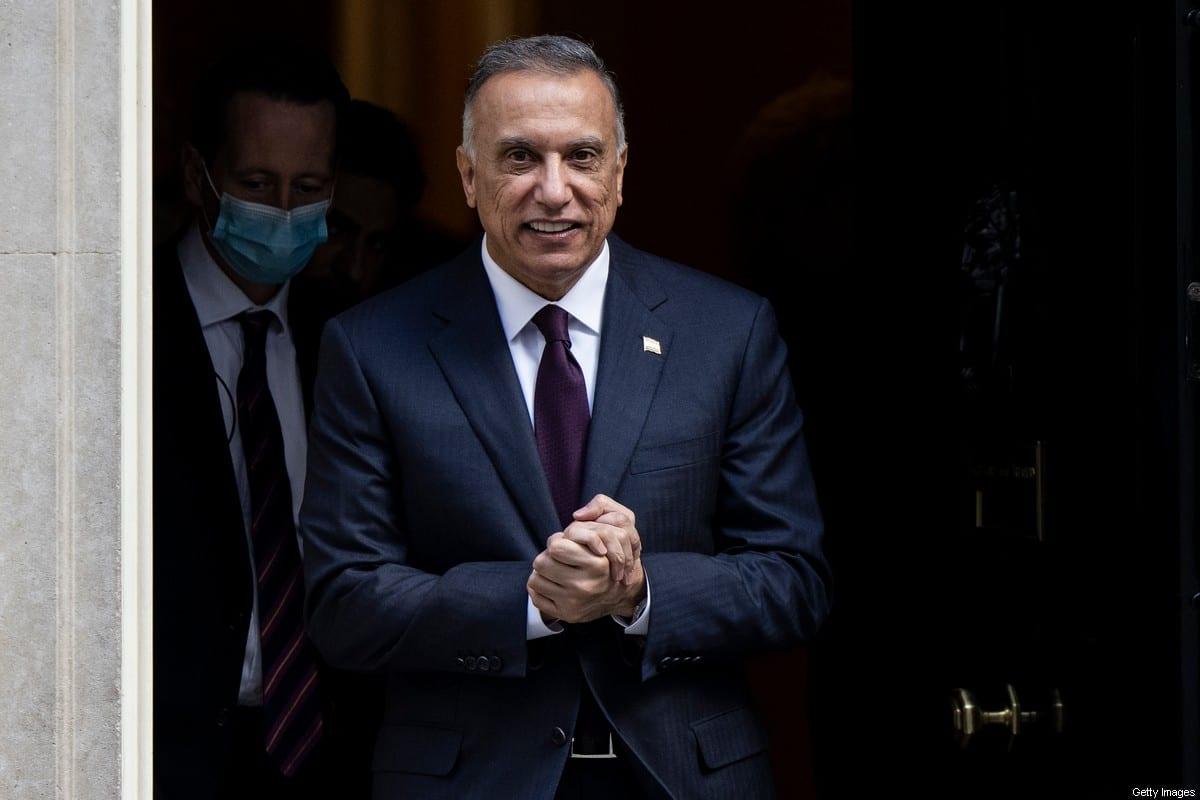 Iraqi Prime Minister Mustafa Al-Kadhimi on October 22, 2020 in London, England [Dan Kitwood/Getty Images]