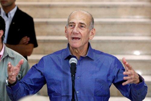 Former Israeli prime minister Ehud Olmert on July 10, 2012 [GALI TIBBON/AFP/GettyImages]