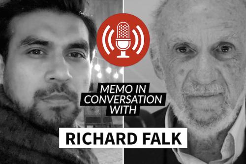 MEMO in conversation with: Prof. Richard Falk