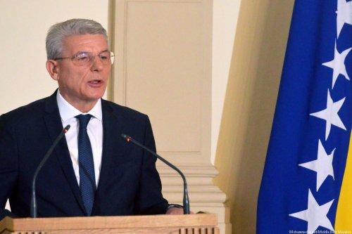 Bosniak member of Bosnia and Herzegovina's Presidential Council, Sefik Dzaferovic on 20 November 2018 [STR/AFP/Getty Images]