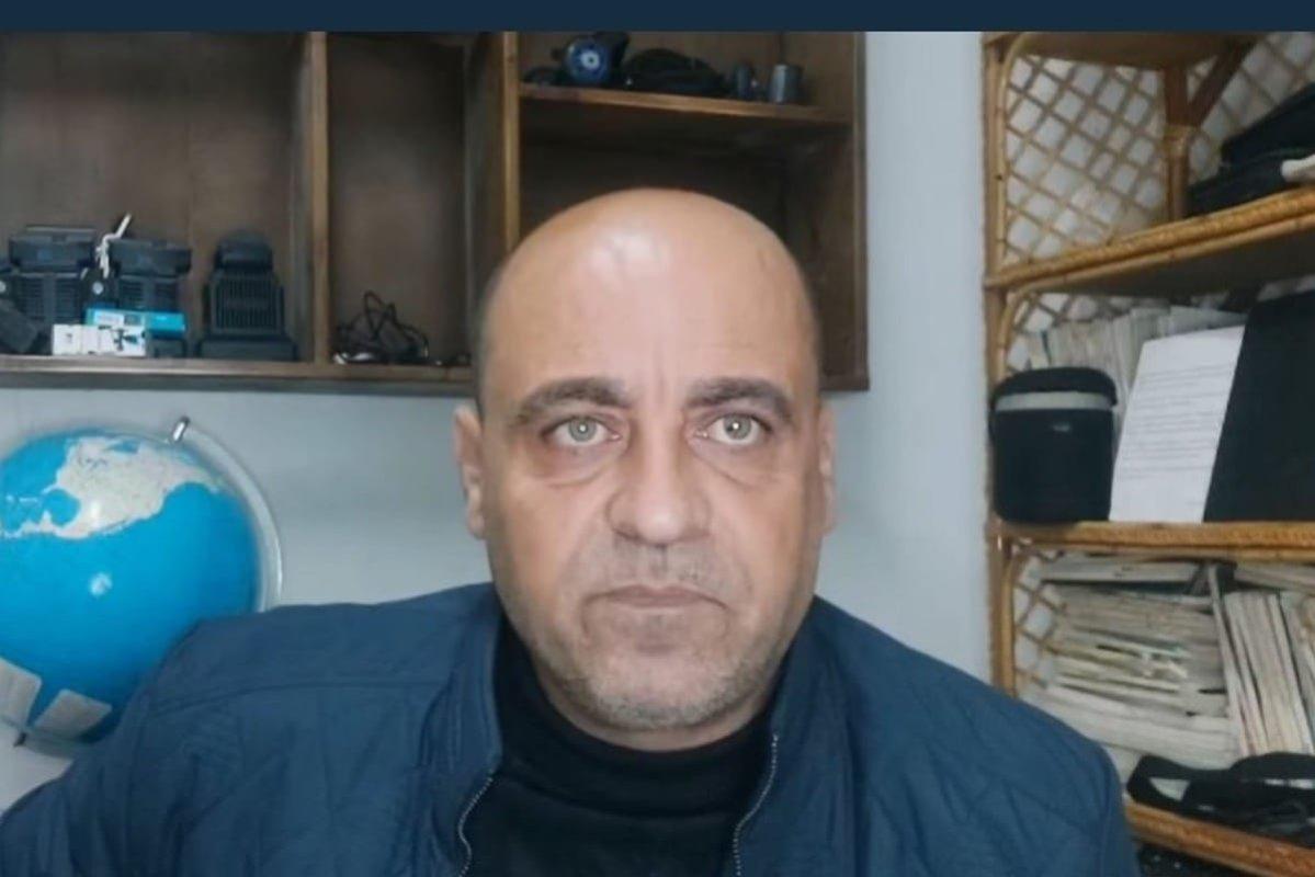 Palestinian activist Nizar Banat [@KhaledAbuToameh/Twitter]