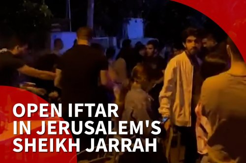 Solidarity open iftar in support of Sheikh Jarrah