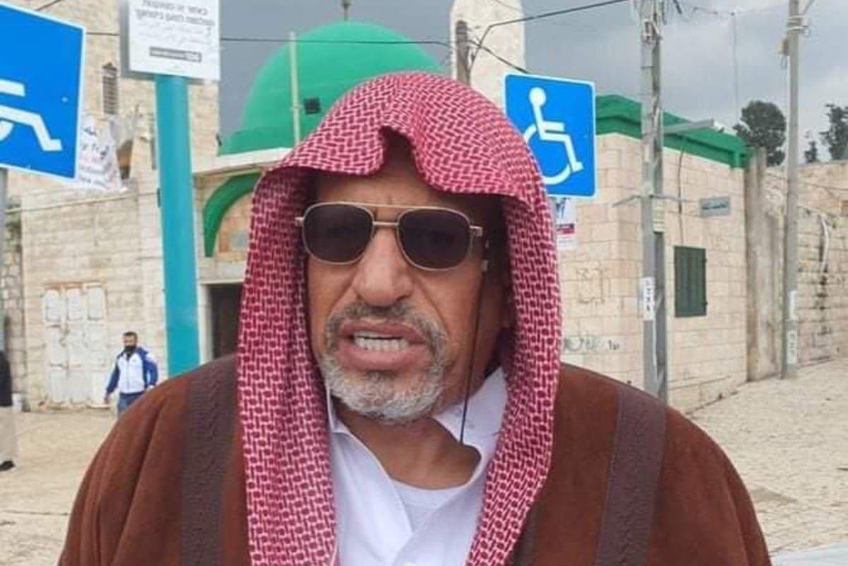 Sheikh Yousef Al-Baz [qudsn/Twitter]
