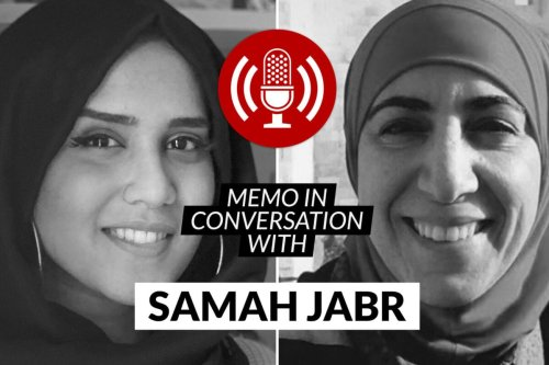 MEMO in conversation with: Dr Samah Jabr