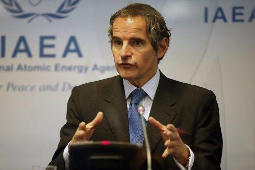 Director general of the International Atomic Energy Agency (IAEA), Rafael Grossi in Vienna, Austria on 7 June 2021 [Aşkın Kıyağan/Anadolu Agency]
