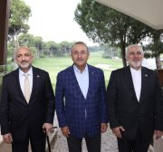 Turkey, Afghanistan, Iran hold trilateral meeting