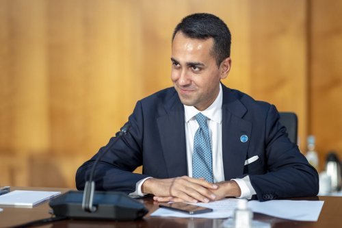 Foreign Minister of Italy, JLuigi Di Maio attends Second Berlin Conference on Libya, in Berlin, Germany on June 23, 2021 [Thomas Imo/photothek.de/Pool - Anadolu Agency]