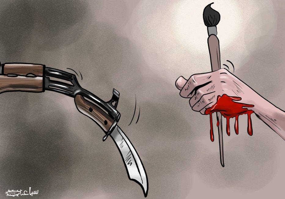 Why did the PA kill Nizar Banat? - Cartoon [Sabaaneh/MiddleEastMonitor]