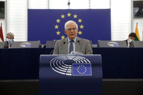 European High Representative of the Union for Foreign Affairs, Josep Borrell on June 8, 2021 [JEAN-FRANCOIS BADIAS/POOL/AFP via Getty Images]