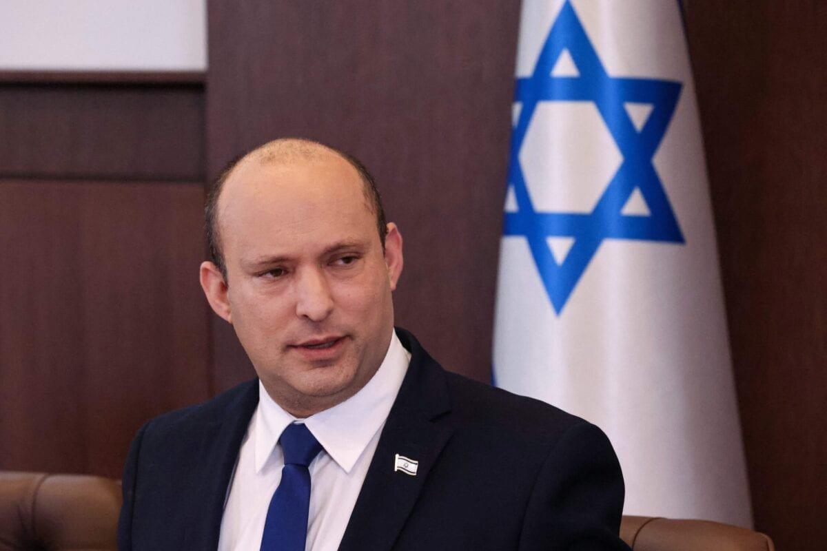 Israeli Prime Minister Naftali Bennett on June 20, 2021 [EMMANUEL DUNAND/AFP via Getty Images]