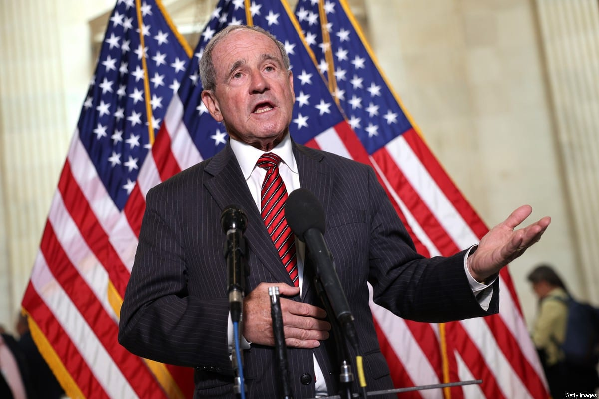 United States Republican Senator James Risch on in Washington, DC on 18 May 2021 [Kevin Dietsch/Getty Images]