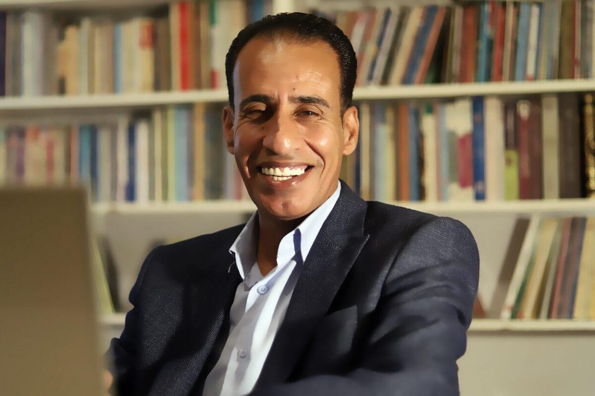 Jordanian writer Jalal Barjas [Ahmad Alzoubi]
