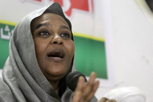 Sudanese Foreign Minister, Mariam Al-Mahdi on Khartoum, Sudan 9 September 2014 [ASHRAF SHAZLY/AFP/Getty Images]