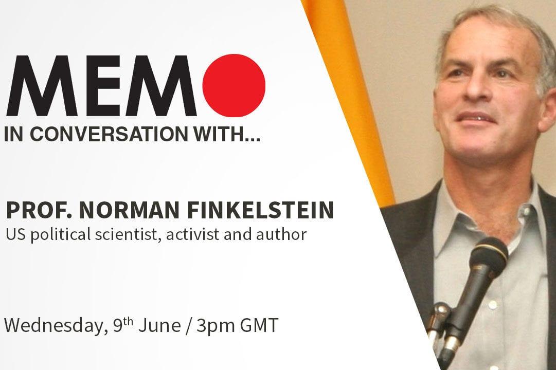 MEMO in conversation with: Prof. Norman Finkelstein