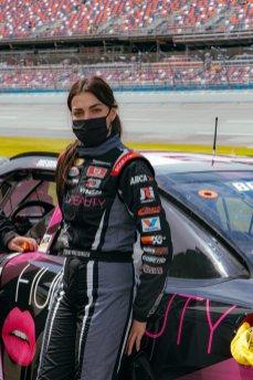 Arab-American female NASCAR race driver Toni Breidinger [Toni Breidinger]