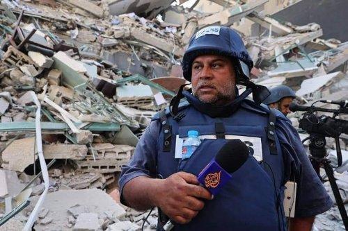 Wael Al-Dahdouh is during the media coverage of the last war on Gaza, May 2021 [Wael Al-Dahdouh]
