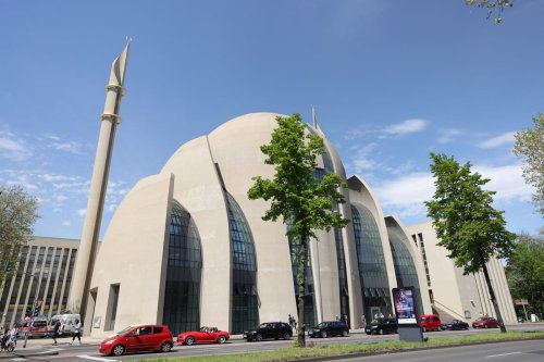 A general view of a mosque in Germany on 9 May 2021 [Andreas Rentz/Getty Images]