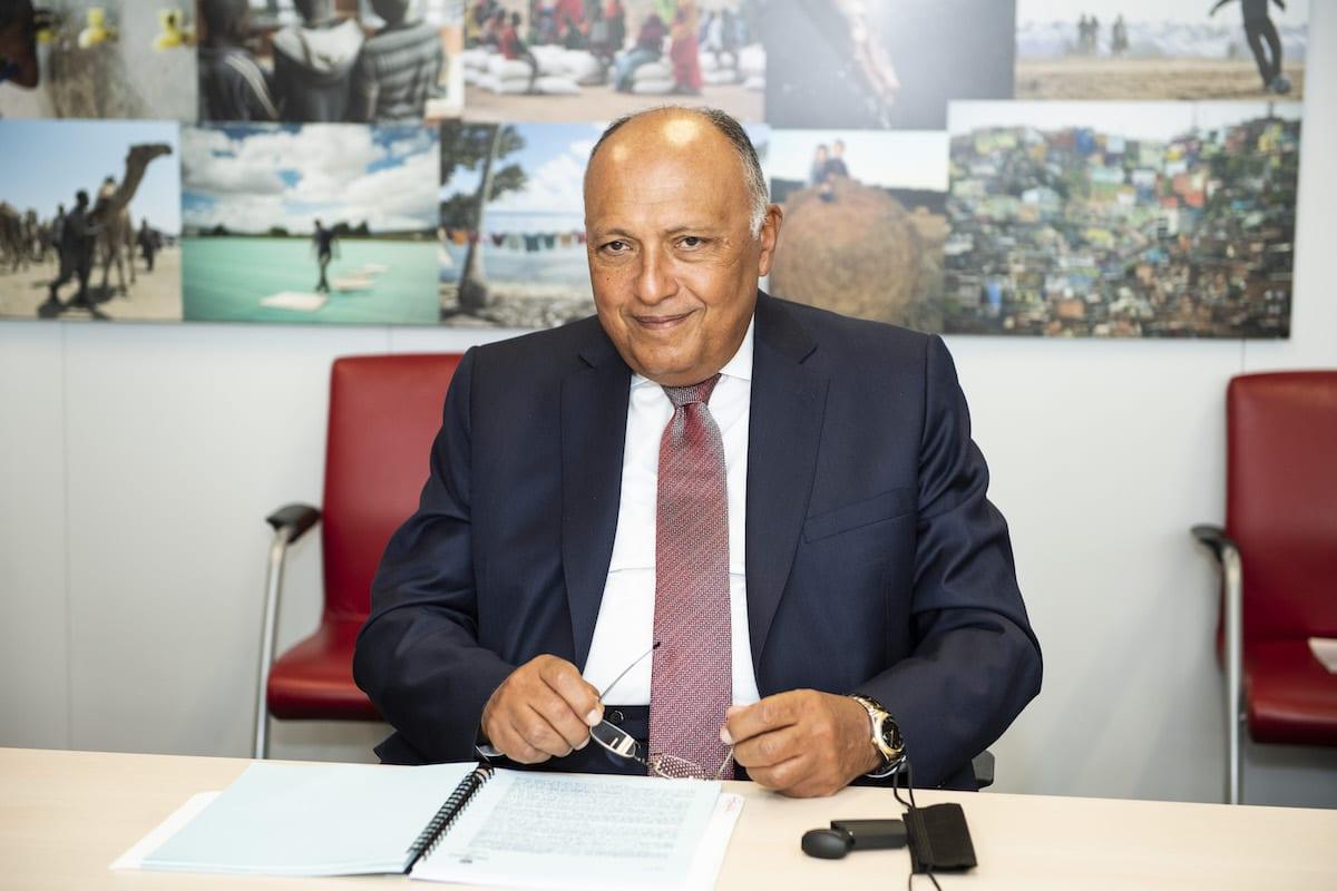Egypt FM not optimistic about Ethiopia's 'evasive' statements over dam