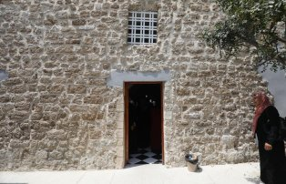 Gaza re-opens Ottoman-era house, on 25 July 2021 [Mohammed Asad/Middle East Monitor]