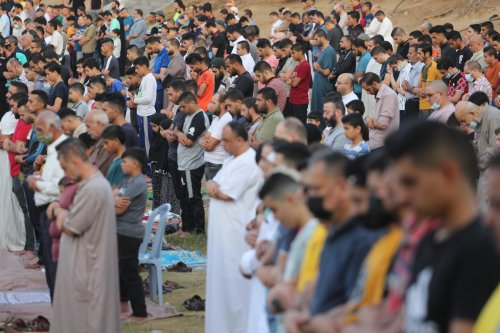 Gaza marks Eid two months after last Israeli aggression [Mohammed Asad/MAiddle East Monitor]