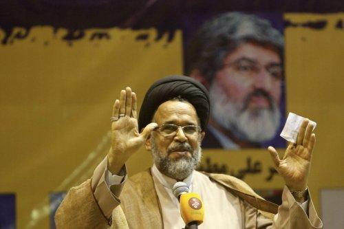 Iranian intelligence minister Mahmoud Alavi in Tehran on February 23, 2016 [BEHROUZ MEHRI/AFP via Getty Images]