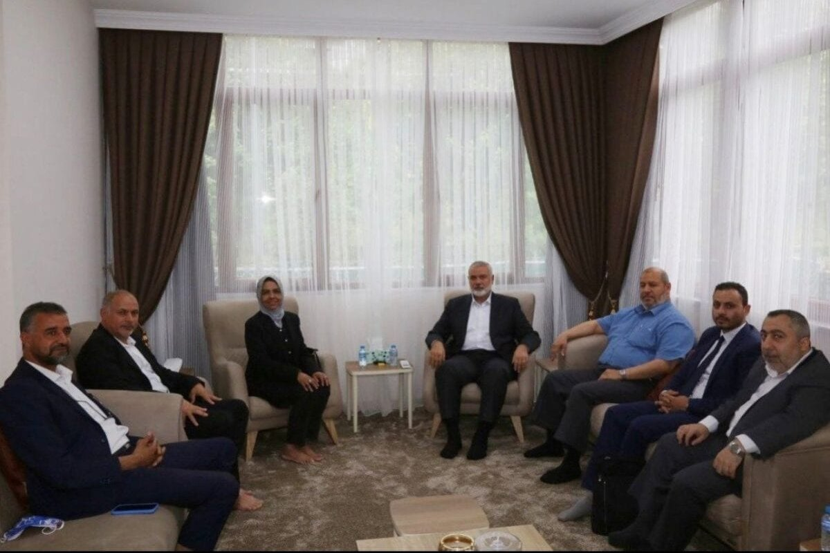 Hamas officials met with a Geneva Council for International Affairs and Development (GCIAD) delegation in Istanbul
