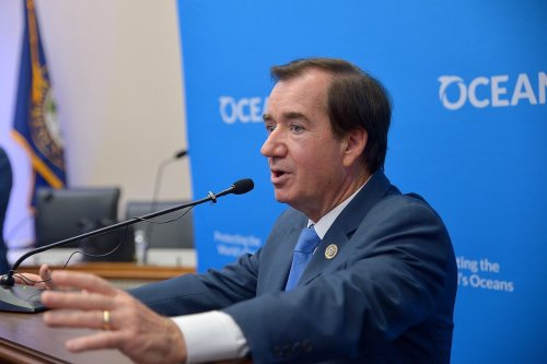 Congressman Ed Royce (R-CA) speaks at a Capitol Hill reception on July 25, 2018 in Washington, DC. [Shannon Finney/Getty Images]