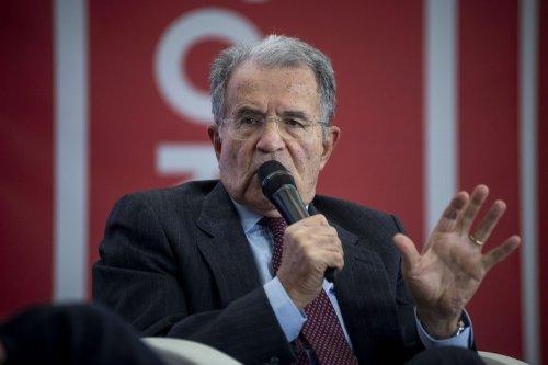 Former Italian politician and professor Romano Prodi on December 6, 2019 in Rome, Italy. [Antonio Masiello/Getty Images]