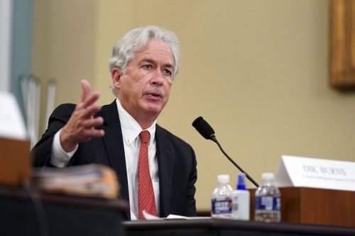 CIA Director, William Burns, testifies during a House Intelligence Committee hearing about worldwide threats, on Capitol Hill in Washington, DC, 15 April 2021. [AL DRAGO/POOL/AFP via Getty Images]